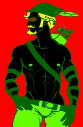 the power of green by BoggieNightBoy