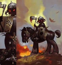 My Little Death Dealer 2 by zedew