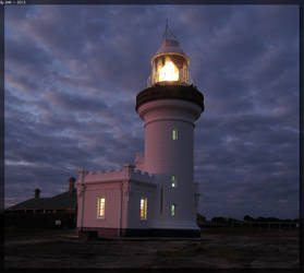 Point Perpendicular Lighthouse - Night 2 by JohnK222