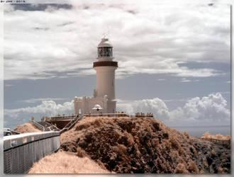 Cape Byron Lighthouse - IR 1 by JohnK222