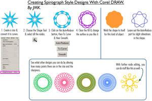Spirograph Style Dealies by JohnK222