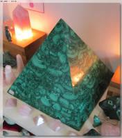 Malachite Pyramid by JohnK222