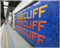 Edgecliff Station Sign by JohnK222