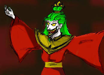 Fire Lord Joker by Mad-Hatter-LCarol