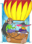 DWD: Ballooning with Del by Mad-Hatter-LCarol
