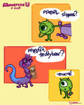 Monsters U: 007 by Mad-Hatter-LCarol