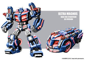 Ultra Magnus WFC concept art by MarceloMatere