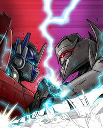 How to Draw: TF Prime cover by MarceloMatere