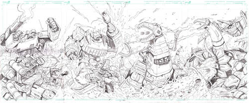 MTMTE and RID interconneceted Covers 7 pencils by MarceloMatere