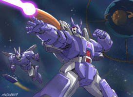 Behold Galvatron by MarceloMatere