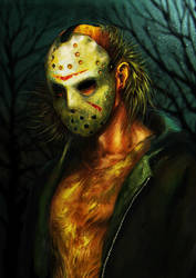 Jason Voorhees by junkome