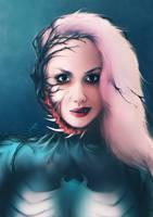She-Venom / Stephanie Michelle by junkome