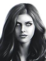 Alexandra Daddario by junkome