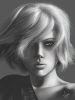 Scarlett Johansson by junkome