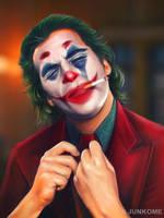 Joker / Joaquin Phoenix by junkome