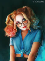 Harley Quinn / Dr. Harleen Quinzel / Margot Robbie by junkome