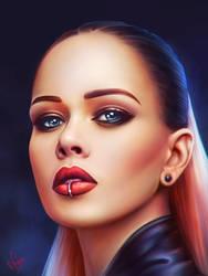 Julia Sanina (The Hardkiss) by junkome