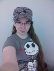 Me in my fave hat by CrystellaSweety92