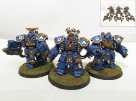 Ultramarine Centurions by Indefiknight