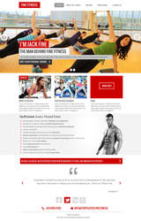 Fitness Template by bilalashrafmalik