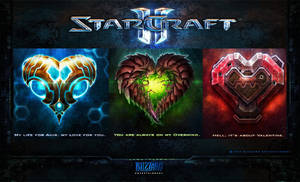 StarCraft Valentine Special by Papineau