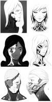 Faces 003 by AdrianDadich