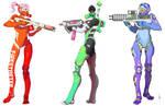 Cyborg Specialists by AdrianDadich