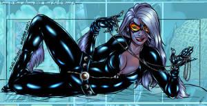 ::Ultimate Black Cat:: by ravekitten