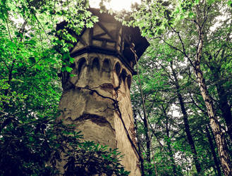 Tower of Rapunzel in park Efteling by mbrv4ever