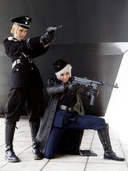 Germany and Prussia - Brothers in Arms by Sillizicuni