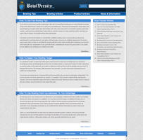 BowlVersity WordPress Template by Bang-a-rang