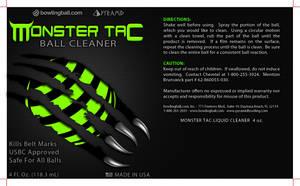 Monster Tac Label (gray) by Bang-a-rang