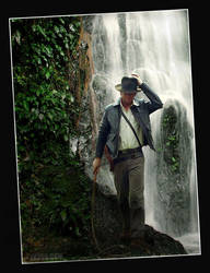 Indiana Jones Waterfall by TonyTK300