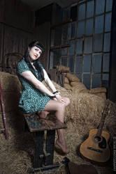 Haystack retro beauty by TonyTK300
