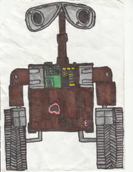 WALL-E by WALLE1Doctor1Who