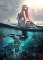 Mermaid by Cestica