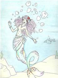Pastel Mermaid by Biankaah