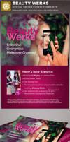 Beauty Werks Social Media Flyer Template by loswl