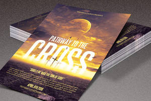 Pathway to the Cross Church Flyer by loswl