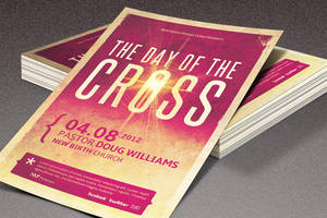 Day of The Cross Church Flyer by loswl