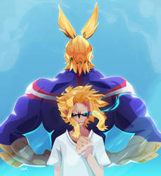 All Might by Zat3am