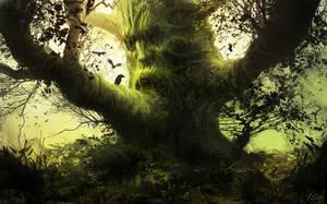 Spirit tree by Athayar