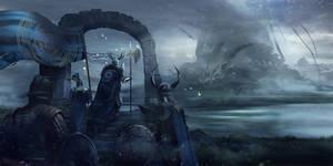 Dragon land at last ! by Athayar