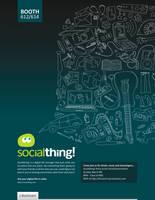 Socialthing Ad v.2 by BlakliteGraphics