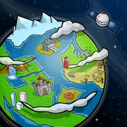 Kojopets - Explore Map by BlakliteGraphics