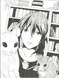 Nezumi and his mice by Wings2flywithice