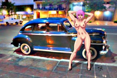 Naked in Public by K-bron