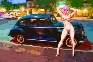 Naked in Public alt. by K-bron