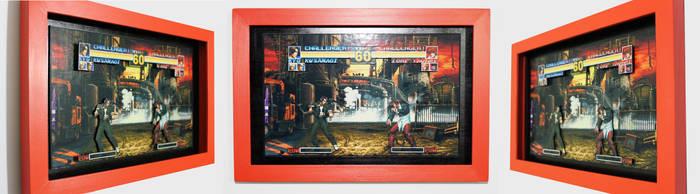 Shadowbox - KOF 95 - Kyo vs. Iori by K-bron