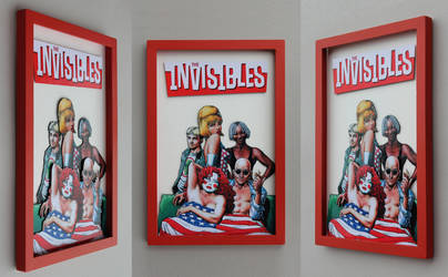 Shadowbox - The Invisibles by K-bron